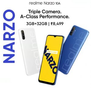 Realme Narzo 10a Best Smartphones