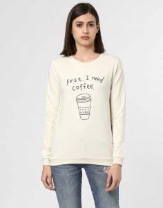 Flat 79% Off On Provogue Women Sweatshirt